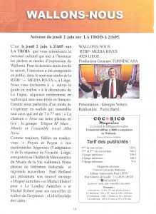 annonce rtbf
